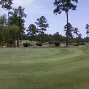 Oak Hills GC: Practice area