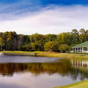 Old South Golf Links: clubhouse & #5