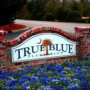 True Blue Plantation sign