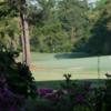 A view of the 10th hole at Legend Oaks Golf Club
