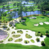 Aerial view of the 3rd hole from King's North at Myrtle Beach National Golf Club