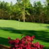 A view of a green at Sage Valley Golf Club