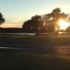 A sunset view from Glen Dornoch Waterway Golf Links