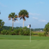A view of a hole at Dunes West Golf Club
