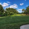 Looking back from the 10th green at Legend Oaks Golf Club