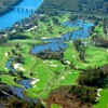 Aerial view from River Golf Club