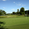 A view of green #15 at River Golf Club