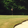 A view of a hole at Foxwood Hills Country Club.