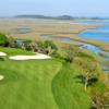 A view of the 13th hole at Tidewater Golf Club
