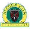 Heather Glen Golf Links - Red/White Course Logo