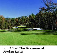 Preserve at Jordan Lake Golf Club