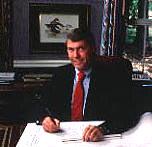 Designer Clyde Johnston