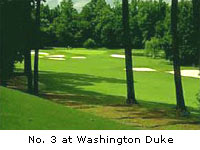 No. 3 at Washington Duke