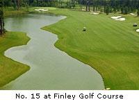 No. 15 at Finley Golf Course