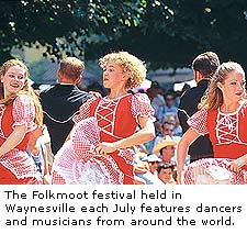The Folkmoot Festival