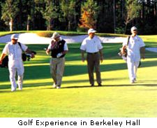 Golf experience in Berkeley Hall