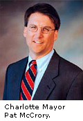 Mayor Pat Mccrory